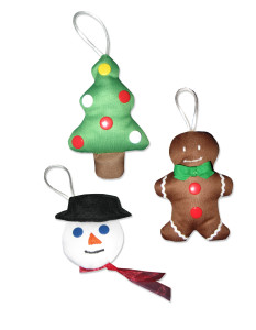 Babyville Boutique PUL Holiday Ornaments